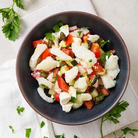 Salada Grega de Bacalhau - Pescanova