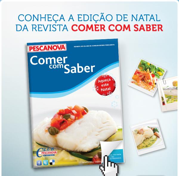 Conheça a edição de Natal da Revista Comer com Saber